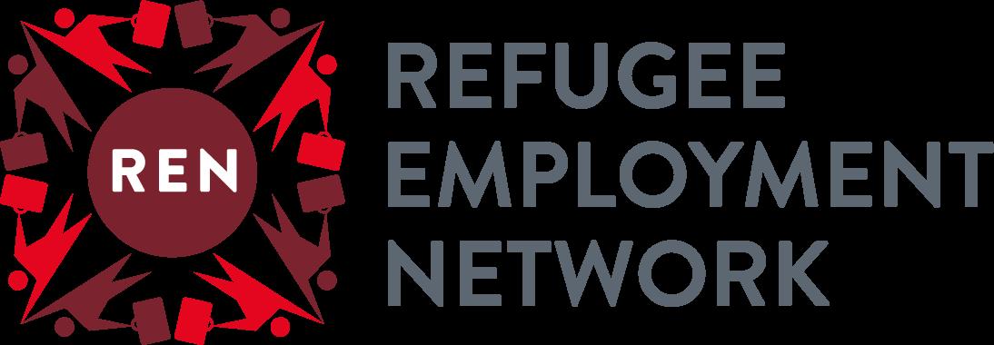 Refugee Employment Network (logo)