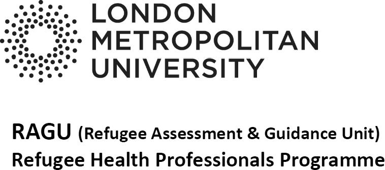 RAGU (Refugee Assessment and Guidance Unit) [logo]